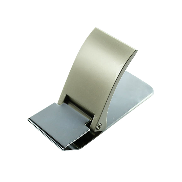 NEW Wallet Slim Sided Stainless Steel Money Clip Card Credit Name Holder Best Sale-WT