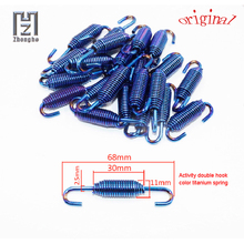New Hardware Spring U-Hook Stainless Steel Yellow Blue Scorpio Short/Long High Quality Hook Long Lasting Elasticity