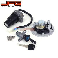 Motorcycle Lockset Ignition Key Switch Fuel Gas Cap Lock Keys For YAMAHA TZR125 TZM150 TZR150 TDM850