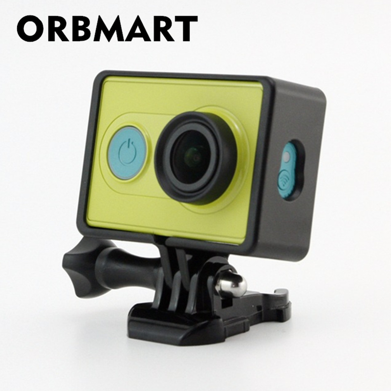 Digital Gear Bags Responsible Orbmart Protective Frame Border Case Cover For Xiaomi Yi Xiaoyi Sport Action Camera Fancy Colours Camera/video Bags