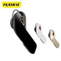 NAIKU Bluetooth 4 1 Wireless Headphones Earphone Headset With Microphone Mini Handfree Ear Hook Headset For