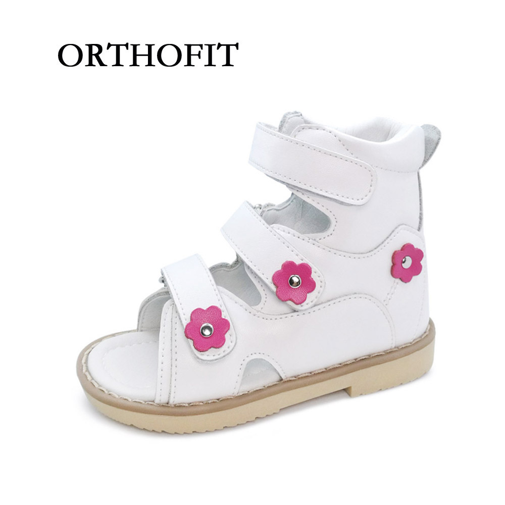 Flower Decoration Simple Lovely Children Genuine Leather Flat Foot Shoes Anti virus Shoes font b Kids