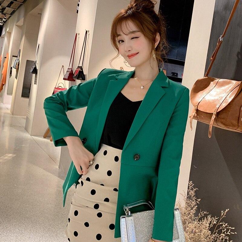 Пиджак женский женский осень 2017 года новый корейский бизнес-костюм с длинными рукавами костюм темперамент женский пиджак мода
