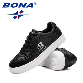 Soft Style Shoes | BONA New Typical Style Women Skateboarding Shoes Outdoor Jogging Sneakers Lace Up Women Athletic Shoes Soft Fast Free Shipping