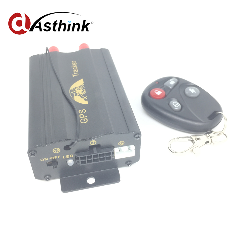 Covert car gsm gprs system Mini vehicle remote control gps tracker TK 103B free shipping