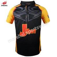 Guangzhou polo t shirt usine, nouveau design polo t-shirt, pleine sublimation personnalisé polo t-shirt gros en chine