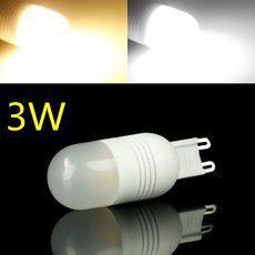 G9 3W 270lm 3500K 6-SMD 5060 LED Warm White Lights Ceramic Bulb Light 220V 240V