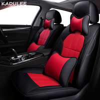 KADULEE leather car seat cover for Geely EC8 Emgrand EC7 GS Vision X1 X3 GX7 GC7 GX2 UFO SC3 SC5 SC6 SX7 car styling Automobiles