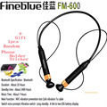 Fineblue FM600 Wireless NFC auriculares Bluetooth Stereo Headset Earphone Anti Lost Vibration Voice Prompt Sport Gym Headphone