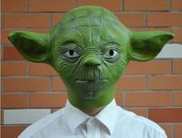 Kostüm Sterne Krieg Yoda Maske Jedi Halloween Master Animationsfilm Geschenk Zubehör
