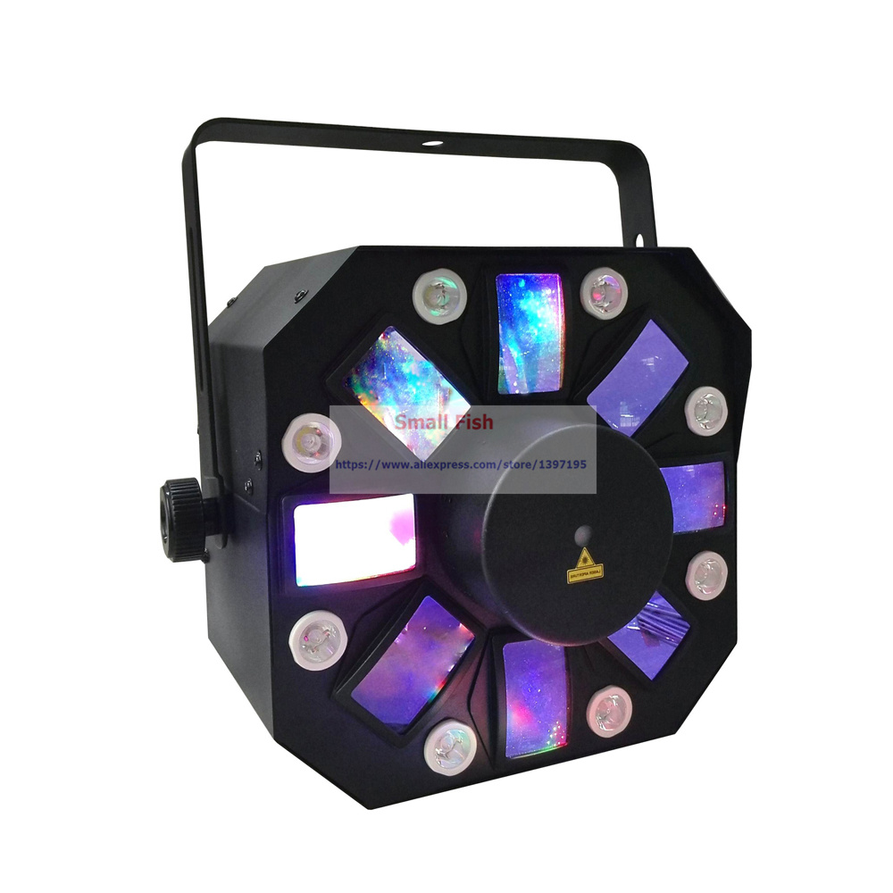 Image 2 - Sale 2019 Hot 8X1W White Color + 8X3W RGBWA LED Stage Effect Light USA Luminums Professional DJ Disco Shows Equipments-in Stage Lighting Effect from Lights & Lighting