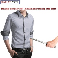New Self Defense Business Security Stealth Body Stab Resistant Anti Cut Shirt Military Tactics FBI Protective Clothing 6 Color