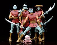 Neca NYCC Shredder TMNT Teenage Mutant Ninja FOOT CLAN Set Figure loose Anime Figure Collectible Model Toy Turtles