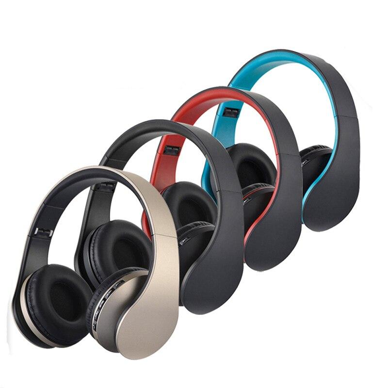 Feeya LH-811 HiFi Deep Bass Sans Fil Stéréo Bluetooth Casque Antibruit Casque Avec Mic, soutien TF Carte, FM Radio