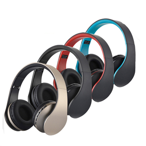 feeya LH-811 HiFi Deep Bass Wireless Stereo Bluetooth Headphone Noise Cancelling Headset With Mic, Support TF Card, FM Radio