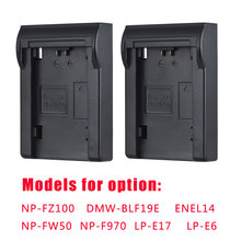 Andoer 2 adet NP FZ100/NP FW50 pil plakası için Neweer Andoer çift/dört kanallı pil şarj cihazı Sony A7III A9 A7RIII a7SIII