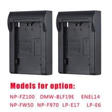 Andoer Placa de batería NP FZ100/NP FW50 para cargador de batería de doble/cuatro canales para Sony A7III A9 A7RIII A7SIII, 2 uds.
