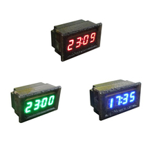 2018 Hot Selling Universal Waterproof Car Motorcycle Auto Accessory DC 12V/24V Dashboard Digital LED Display Clock Car-Styling