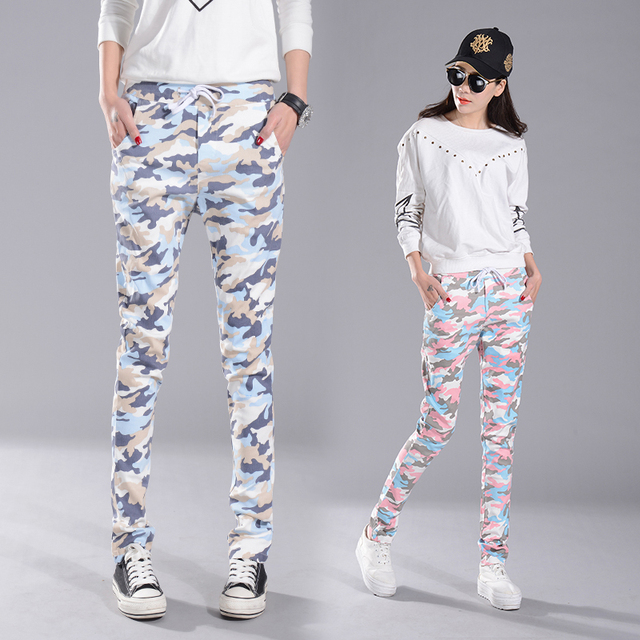 Spring autumn new fashion maternity trousers  pregnant women leggings camouflage color Abdominal adjustable leisure pants