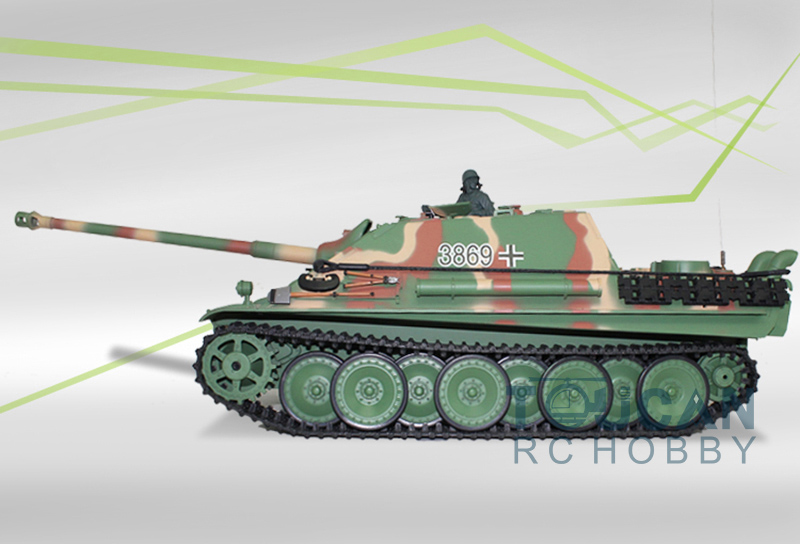 HengLong 1/16 Scale Plastic Version German Cheetah RC RTR Tank Model 3869 mantra 3869