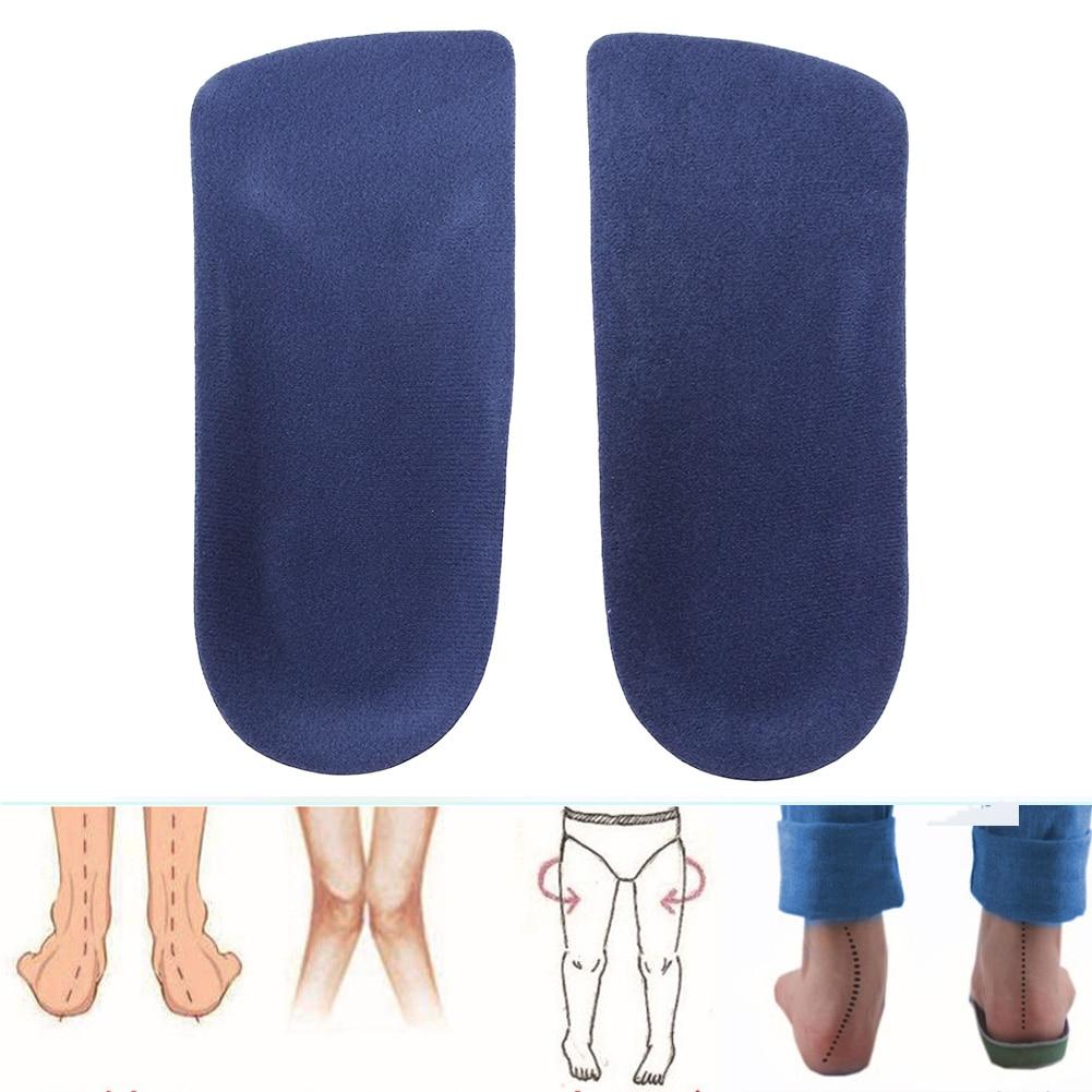 1 par 3/4 fascitis plantar talón arco ortopédico zapatos inserto almohadilla pies planos alivio del dolor ortopédico arco corrector apoyo plantillas