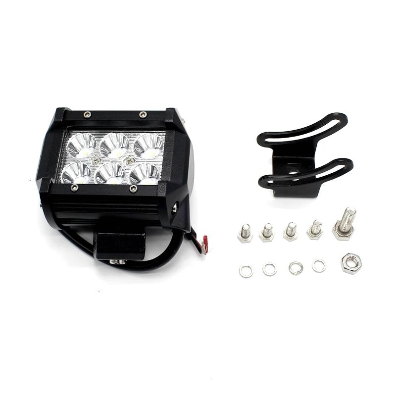 Tak Wai Lee 1Pcs / Set 18W 4Ich Inch LED Bar Bar Light Waterproof for - Ավտոմեքենայի լույսեր - Լուսանկար 5