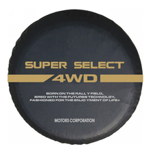"Band Diameter 24 "" 33"" Inch Waterdichte Stofdichte Pvc Lederen Reservewiel Band Cover Case Protector Voor Mitsubishi pajero"