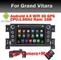 1024 x 600 четырехъядерный сенсорный экран Suzuki Grand Vitara Android 4.4 4 dvd-gps wi-fi 3 г Bluetooth радио RDS USB тв руль