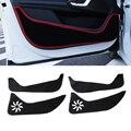 2 Colores Car Styling Protector de Borde Lateral Protegida Anti-retroceso Almohadilla de Protección Puerta Esteras Cubierta Para Peugeot 408 2014 2015 2016