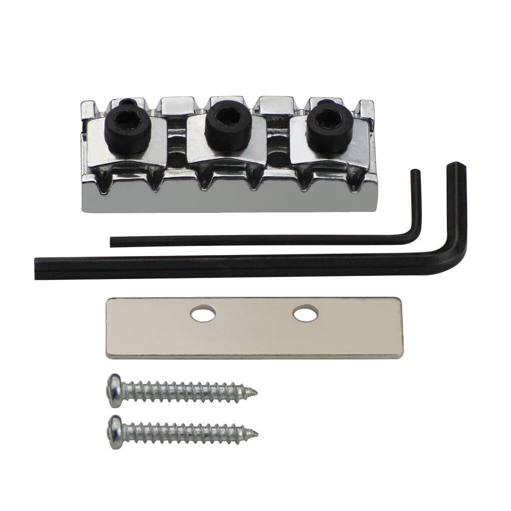 Locking Nut Chrome Adjustable w//Shim 42.5mm For Floyd Rose Locking Nut System