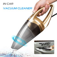 Portable Powerful 120W 12V Handheld Wired   Auto   Car Vacuum Cleaner Car Wet And Dry Dust Vacuum   Auto   Truck Caravan Boat Dirt Clean
