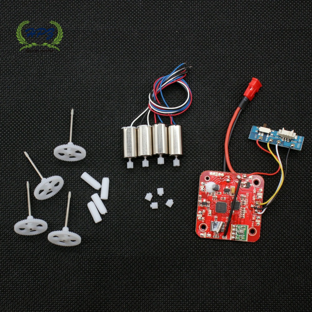 Receiver Board Motor Gearreplacement Parts For Syma X5hc X5hw 1 X8hc X8hw X8hg Remote Control Quadcopter Rc Drone Circuit 24g 4ch 6 Axis Helicopter In Accessories From Toys
