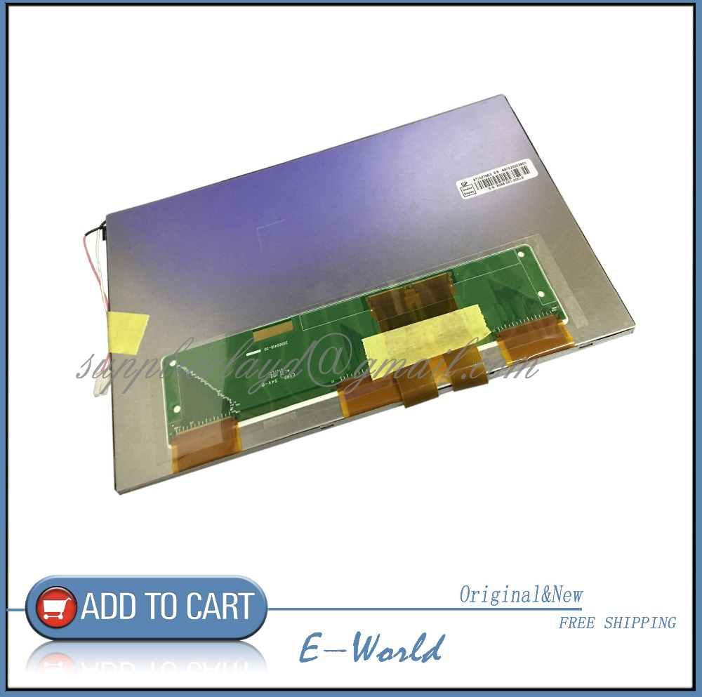 Original 10.2inch LCD screen AT102TN03 V.9 for  Car DVD free shipping
