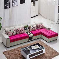 living room furniture modern fabric sofa European sectional sofa set o1207