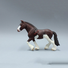 16.5CM Clydesdale PVC Models Eudcational Tools Kids Gifts Collections
