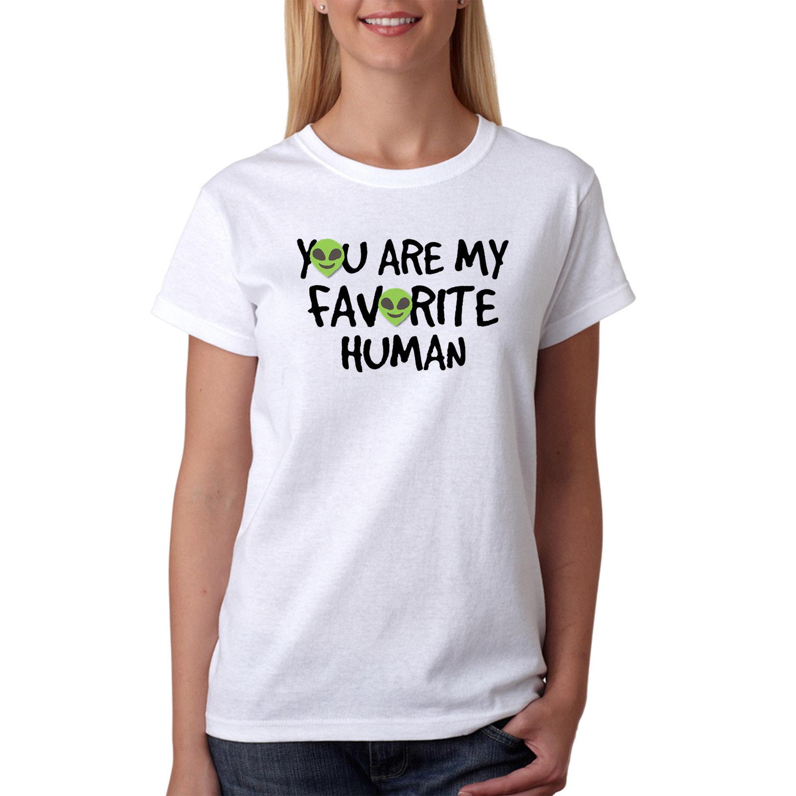 Human design t shirt - You Are My Favorite Human Emojis Women S White T Shirt New Sizes S Xl