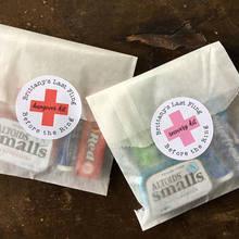 Персонализированные 2 ''свадебные наклейки для душа Конверты уплотнения, татуировки с похмелья восстановление комплект наклейки для сумок посылка