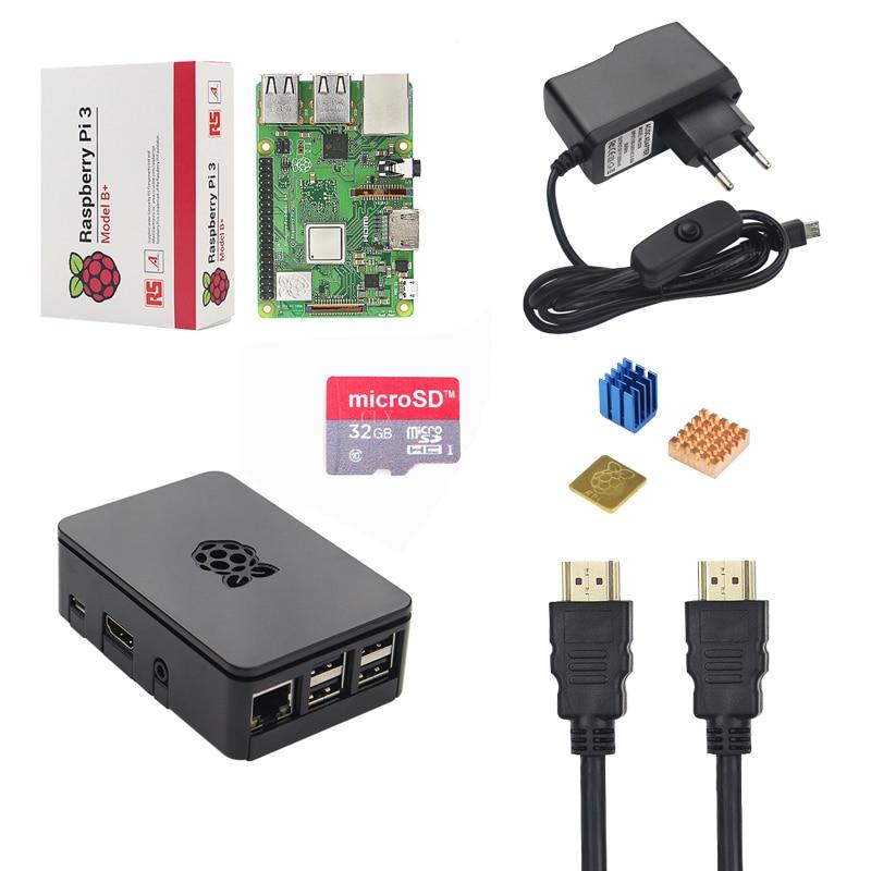 Raspberry Pi 3 B Starter Kit 2 5A Power Supply Adater 16 32GB SD Card HDMI
