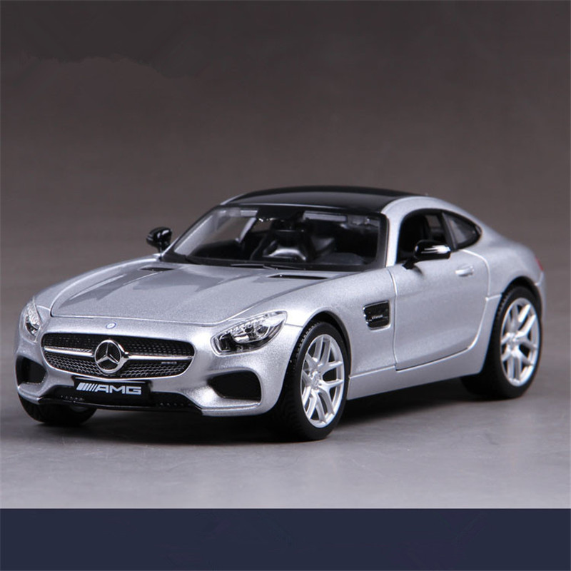 Maisto AMG GT SLS 1:24 Scale Diecast Metal Cars Toy Model, Toys Car For Children, Brinquedos For Collection, Kids Toys  недорого