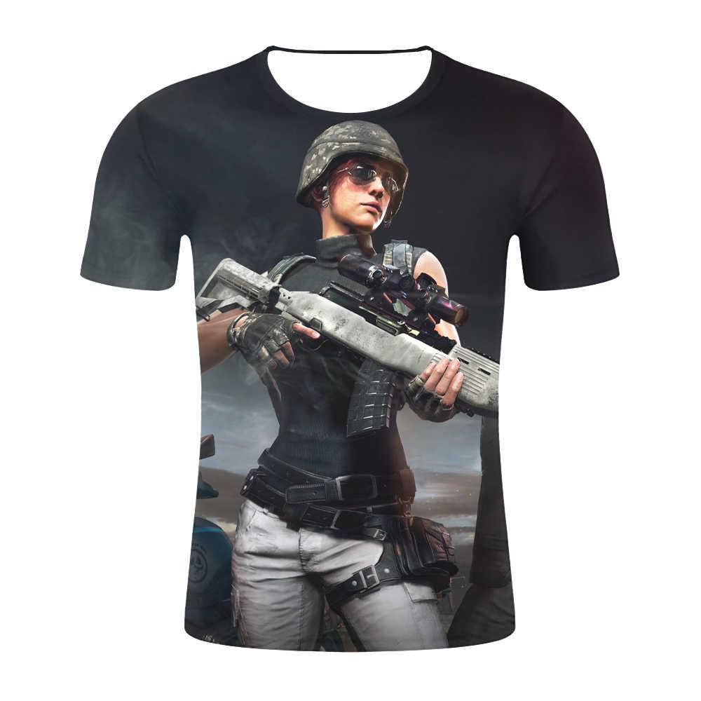 Горячая игра PUBG Мужская 3D футболка/wo для мужчин Aikooki Мода Playerunknown's Battlegrounds Мужская футболка PUBG 3D принт плюс размер