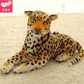 Ty animales de peluche abucheos de la gorrita tejida grande Leona azul del leopardo de la felpa ToysTy observado grande peluches juguetes de peluche para los niños