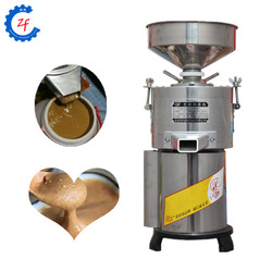220V commercial electric peanut butter grinder machine automatic sesame almond paste grinding milling machine