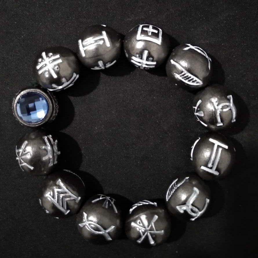 bracelet homme black panther