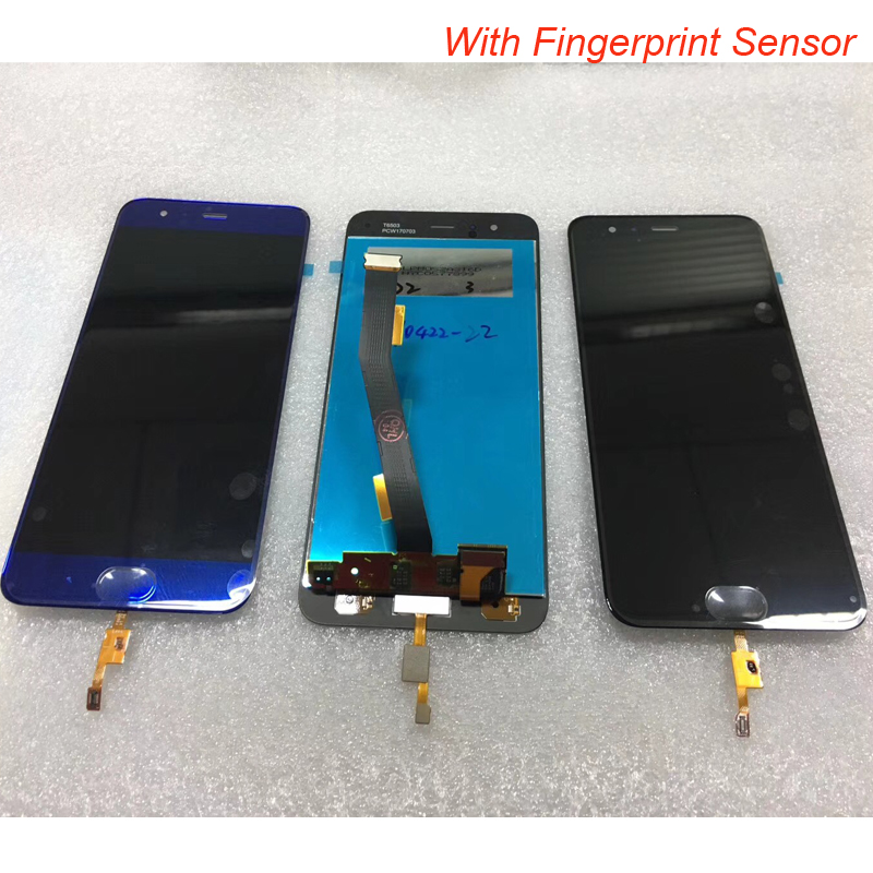100% Tested OK For Xiaomi Mi6 Mi 6 LCD Display+Touch Screen Screen Digitizer Assembly Replacement With Fingerprint Sensor