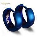 Meaeguet Модные Милый Синий Обруч Серьги Для Женщин Из Нержавеющей Стали ювелирные изделия Серьги 4 Цвета
