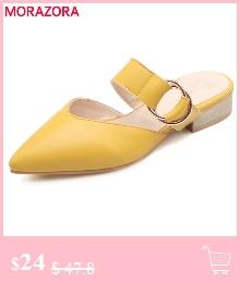 HTB1uM77lrZnBKNjSZFrq6yRLFXaH MORAZORA Plus size 34-46 New genuine leather sandals women shoes fashion flat sandals cow leather summer rhinestone ladies shoes