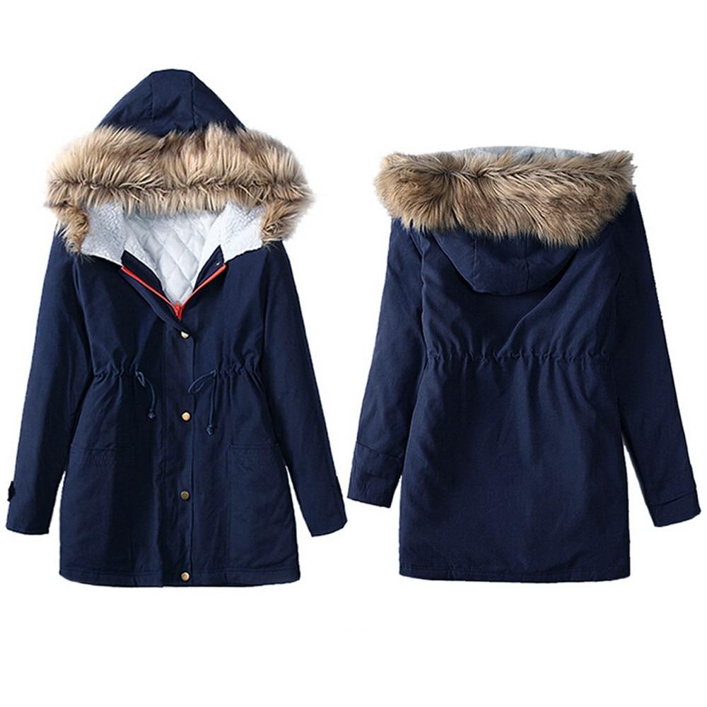 winter jacket women 2016 Korean style Womens Jacket Hooded Winter Parka Coats Top Cotton Ladies Coat