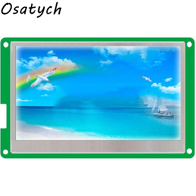 New For DMT48270T043_02W 4.3inch Industrial Serial LCD Screen DGUS Touch Screen 232New For DMT48270T043_02W 4.3inch Industrial Serial LCD Screen DGUS Touch Screen 232
