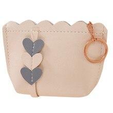 Fashion Coin Purses Women Wallet Small Cute Credit Card Holder Key Money Bags for Ladies Purse Kids Children Zipper Pouch 709 стоимость
