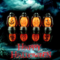 1 PCS Halloween Pumpkin Scene Decorative Props Luminous Night Light Kerosene Lamps Halloween Party Decoration Supplies